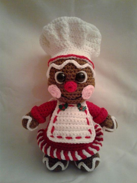 GINGER The Gingerbread Baker Girl
