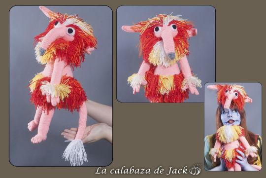 Crochet Firey - Labyrinth - La Calabaza de Jack