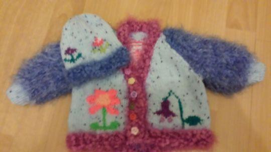 Knitting for orphans