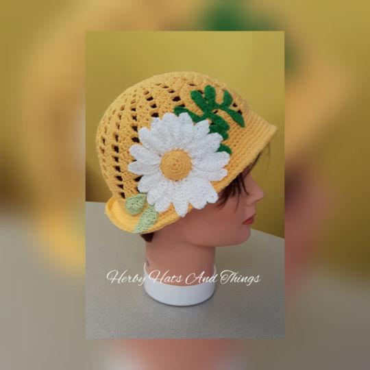 Daisy, Daisy - Toddler Spring Hat