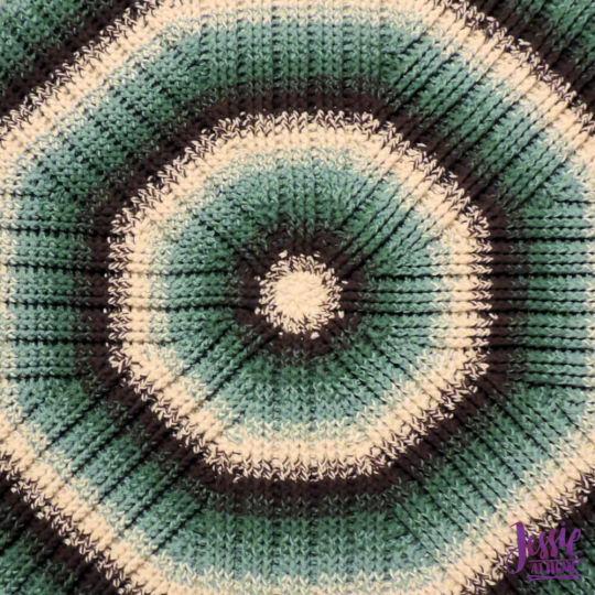 Mossy Oaks Rug – Squishy, textured, round rug to dress up any room!