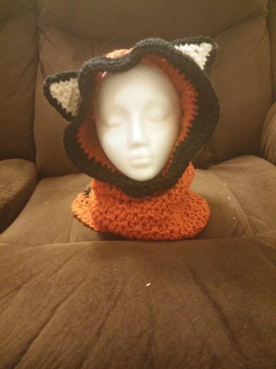 hooded fox cowl