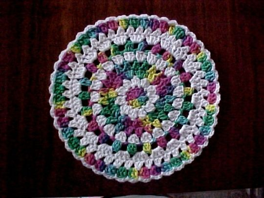 Circular Washcloth