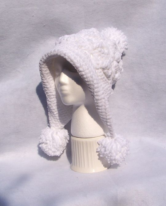 Frozen Snow Hat