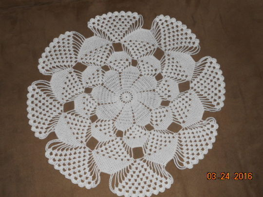 3d Doily Crochet Creation By Charlotte Huffman Crochetmunity