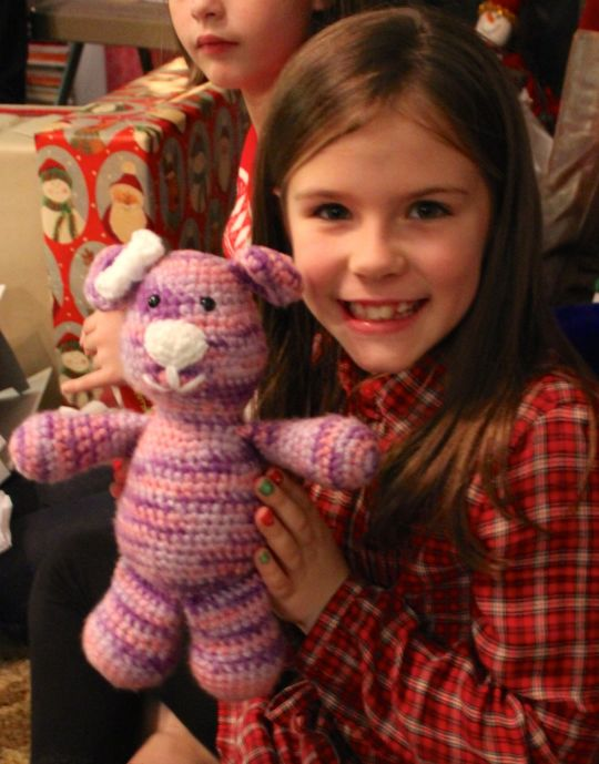 Pink and Purple Teddy Bear
