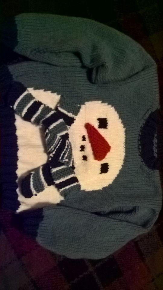 snowman ⛄ jumper
