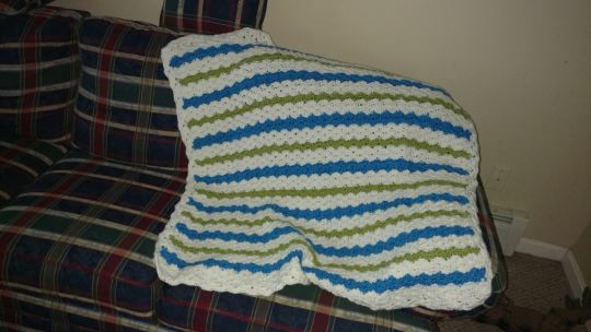 Shell Stitch Baby Afghan Crochet Creation By Nicole Crochet