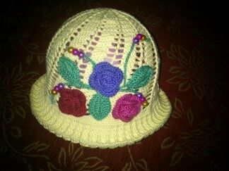 Full of roses hat