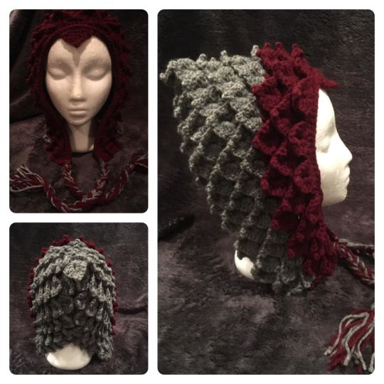 Dragon Scale Hood