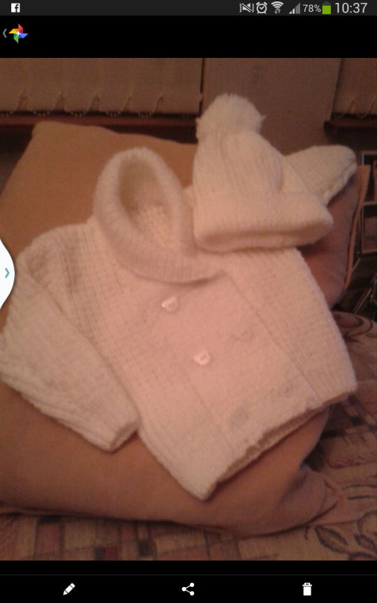 boys jacket and hat