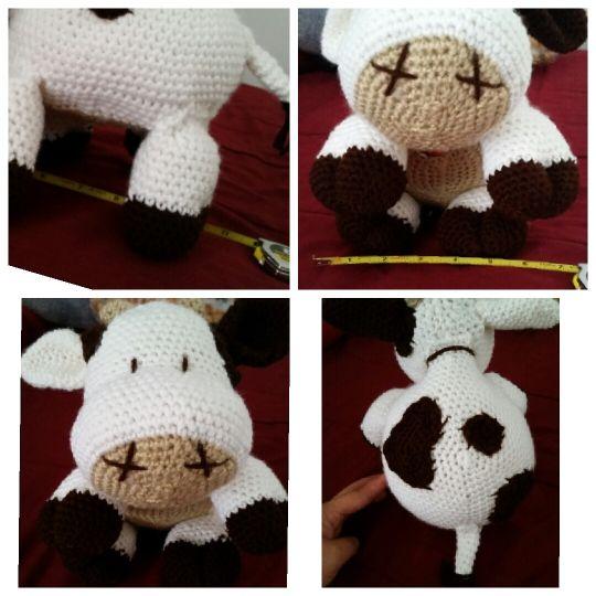 Pillow Pal Cow
