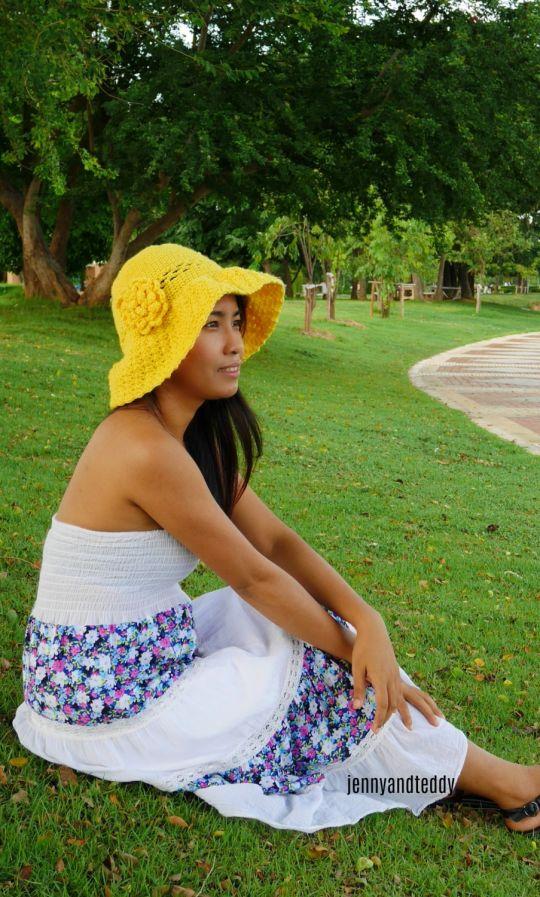 secret garden sun hat