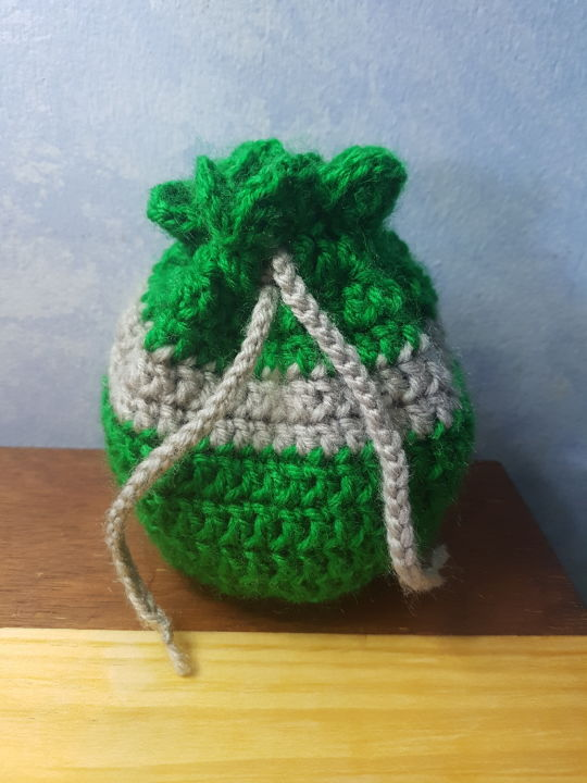 Slytherin drawstring pouch