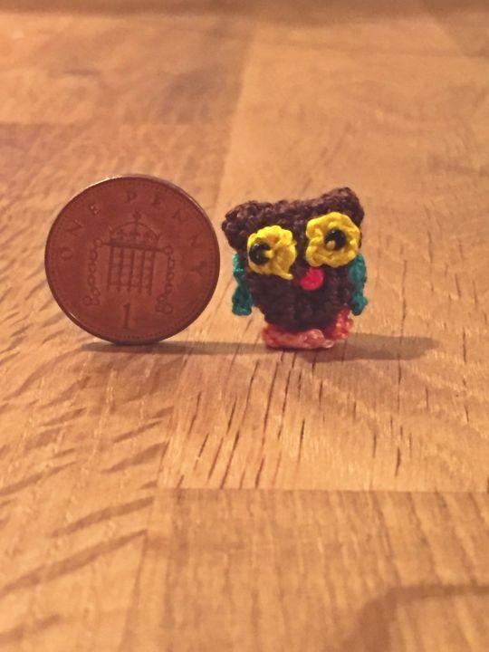 Miniature Amiurgami Owl