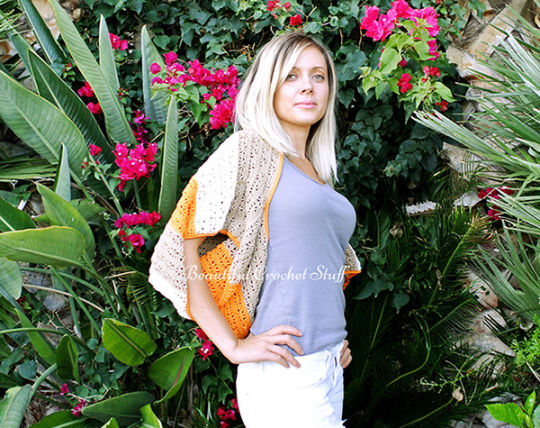 Crochet Shrug Sweater Pattern