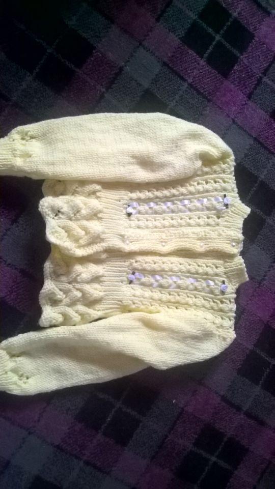 ribbon and lace jacket