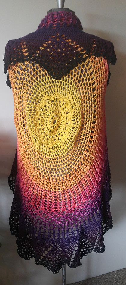 Halloween colors vest