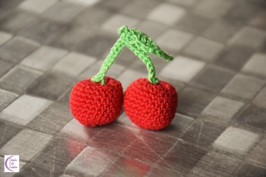Cherry Crochet Crochet Cerise Crochet Creation By Chiyoko Cute