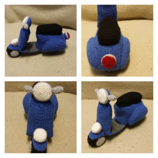 Crochet scooter