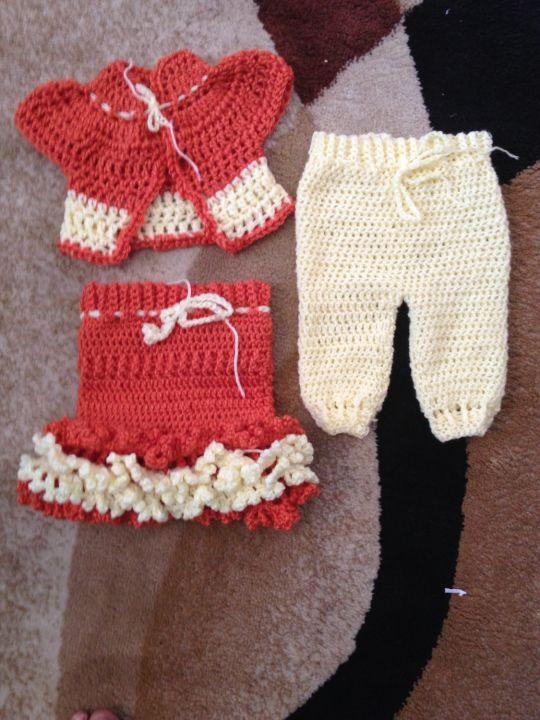 3-6 month baby 3 piece set
