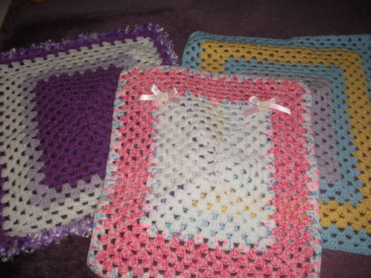 3 Dolls Blankets Crochet Creation By Mobilecrafts Crochet Community