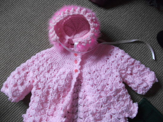 Crochet Layette Set