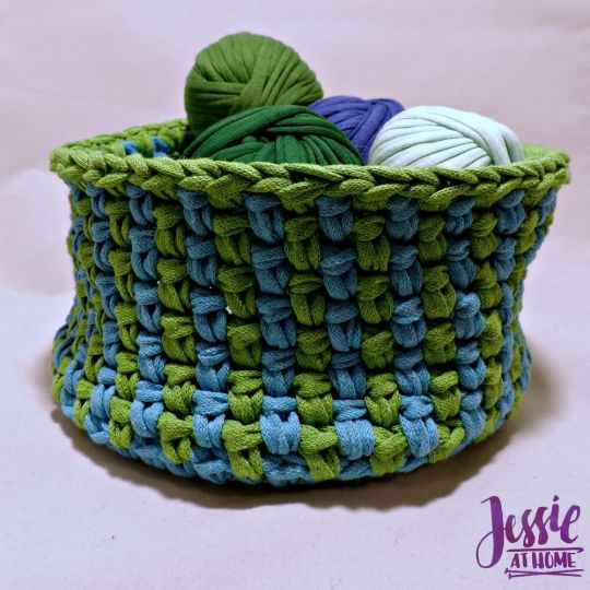 Linen Stitch Basket