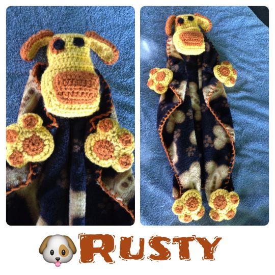 Rusty - A dog lovey