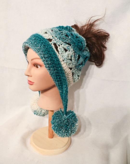 Convertible Frozen Snow Hat.