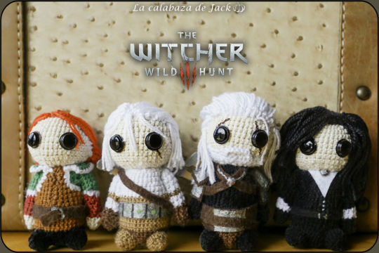 The Witcher Amigurumis - La Calabaza de Jack