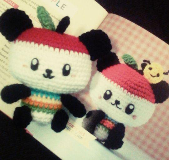 Pandapple Amigurumi