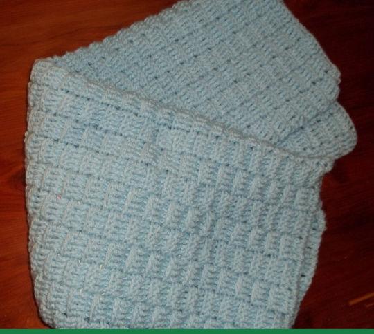 Basketweave Baby Blankets