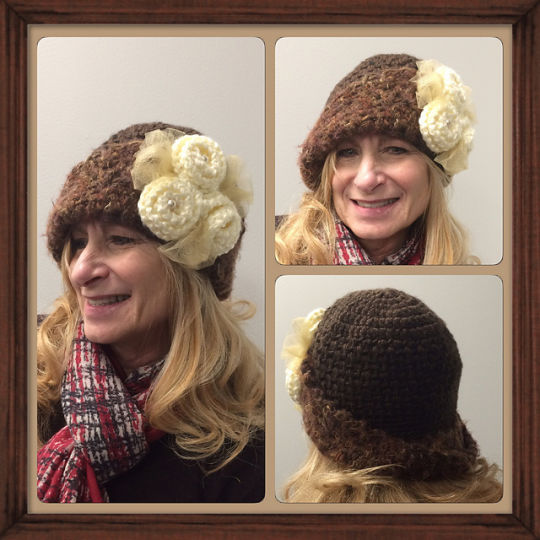Mom's Victorian Hat