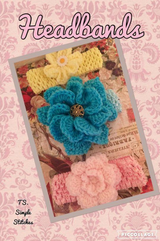 Headbands Flowers