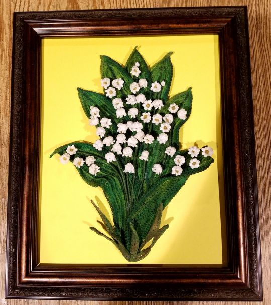 Crochet Lily of the Valley