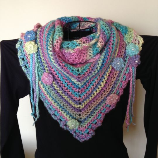Road Trip Scarf Inspired By A Pattern From The Zooty Owl Blog
