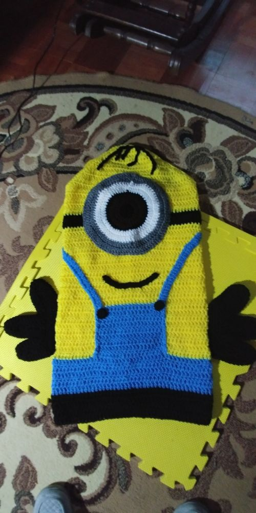 Minion Snuggle Blanket