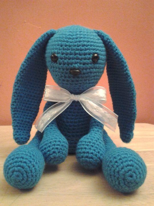 Blue the Alien Bunny