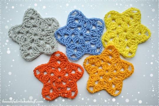 Crochet Star Free Pattern