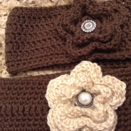 Ear warmers, boot cuffs and coffee cozies