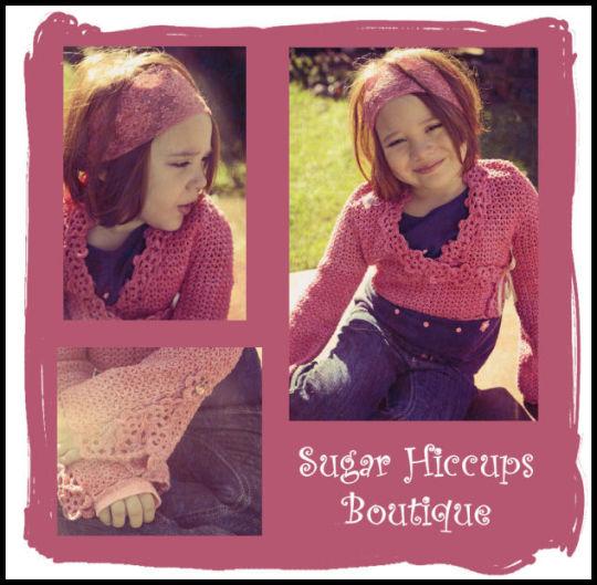 Flower Power Crochet Bolero