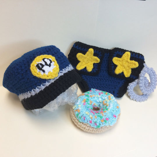 Police Officer Baby Set