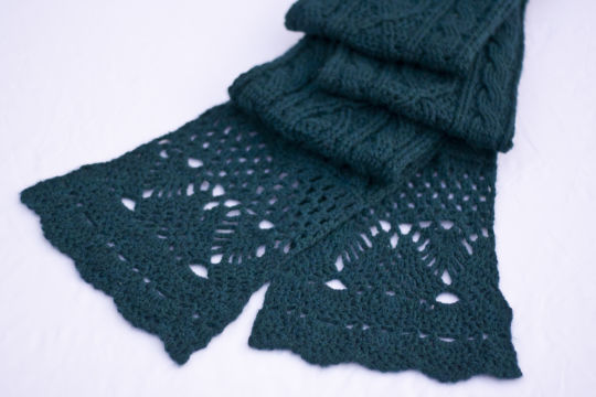 Helen Cable Scarf