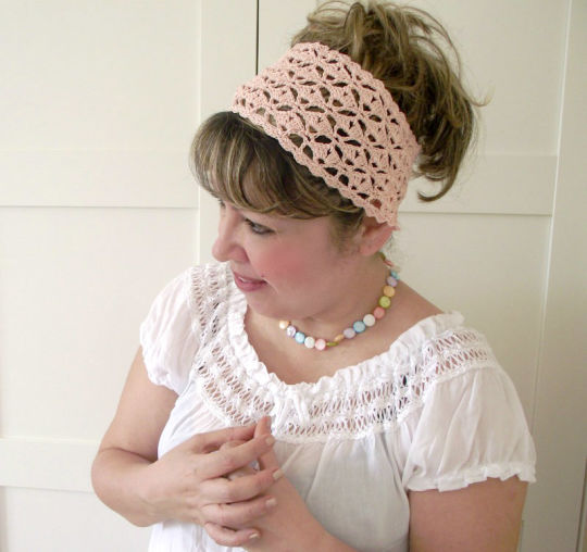 Christy Headband crochet pattern