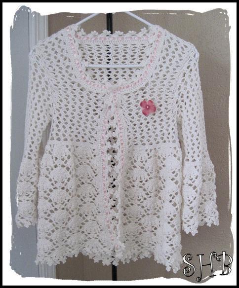 Magnolia Lace Crochet Coat
