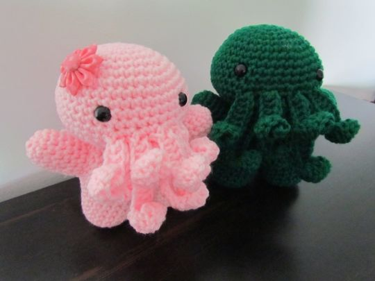 Cthulhu and his girlfriend Cthulha
