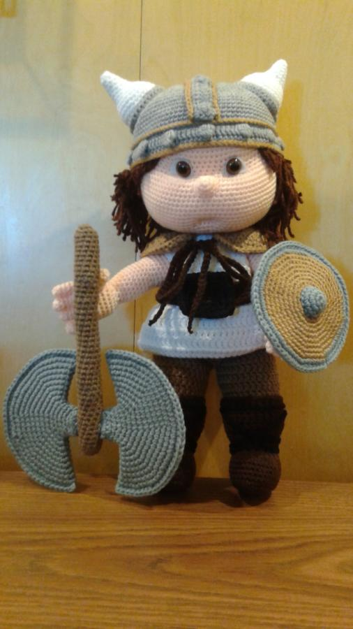 TOMMY the Viking - Crochet creation by Sherily Toledos ...