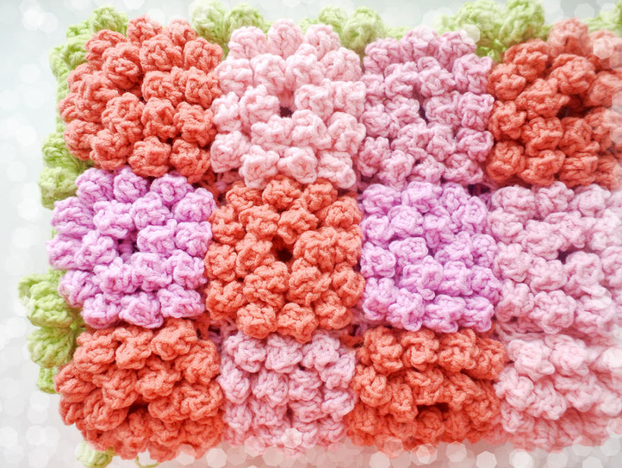 Crochet Flower Pattern Blanket : Crochet Flower Blanket Pattern - Crochet creation by ...