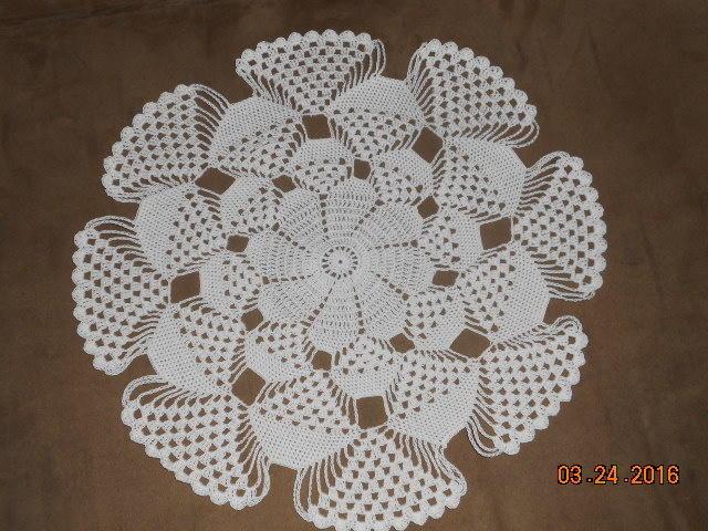 Crochet Patterns Doilies Beginners : 3D doily - Crochet creation by Charlotte Huffman - Crochet ...